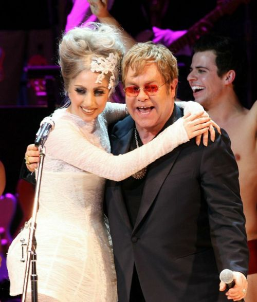 "Elton John Concerned Over 'Frail' Lady Gaga'I Look at Gaga and I Think, 'How Does She Do It?""…  In an interview with The Guardian, Elton John revealed his worries over the health and schedule of close friend and confidante Lady Gaga.  ""I look at Gaga and I think, 'How does she do it?'"" said John. ""I talk to her mum and dad about it. They worry. She is frail, and she doesn't eat when she should do, and she's a girl, and it's tougher for a girl. (More via Rolling Stone…)"