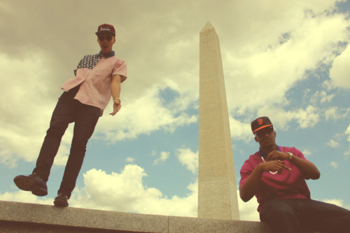 johnnylacephotography:  Out in D.C with my bro Kase
