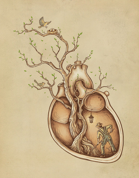 paganlovefest:  Enkel Dika - Tree of Life  forever a progression and a receding and then maybe some more progression that instead feels like receding again and over and over.
