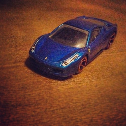 My mother bought me a #Ferrari #458 #Italia for my birthday :) (Taken with instagram)