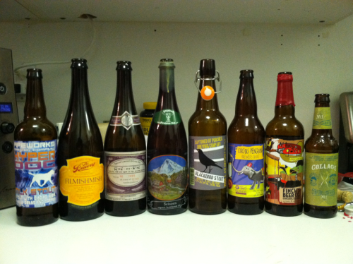 Weekly tasting. A lot of random unexpected ticks tonight, and Filmishmish was MUCH better than I expected!