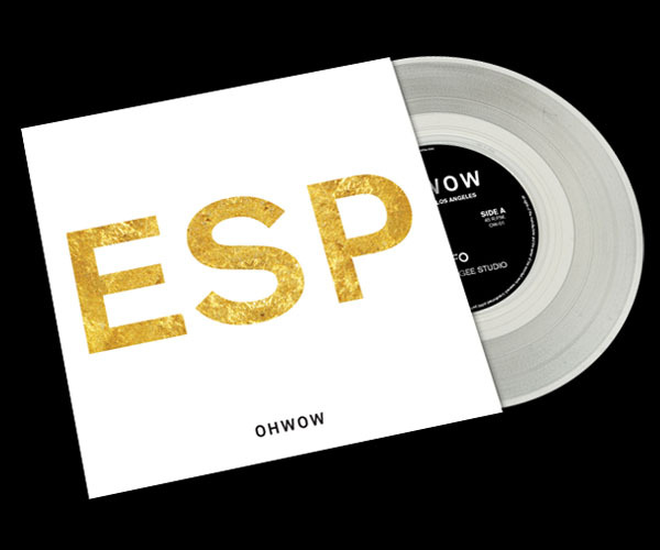 "ESP / UFO 2012 Split ""10 from OH WOW Gallery Available for pre-order now."