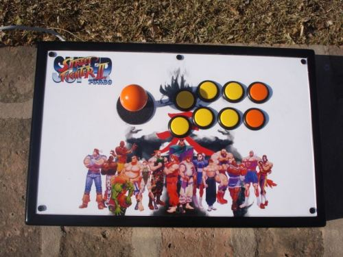 Street Fighter II Turbo Custom Fightstick (By HEAVY DAZE)