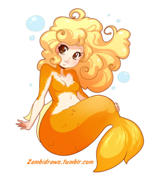 Commission of Froths lovely mermaid <3