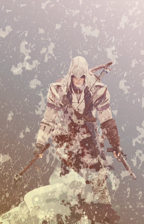 xombiedirge:  Assassin's Creed 3 by mik4g  Submitted by:ianbrooks