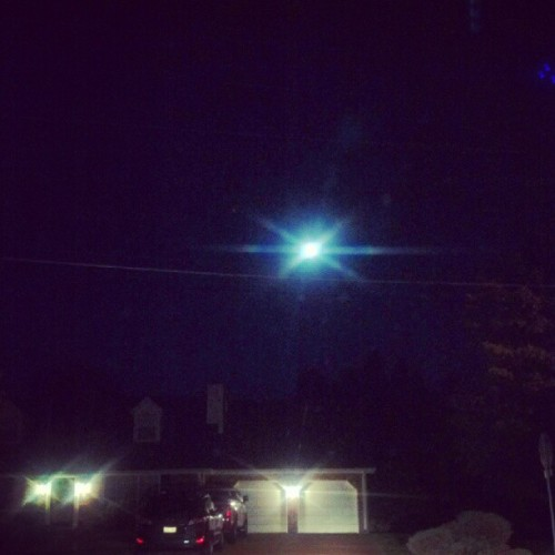 #miin #fullmoon #night #stars #house #driving  (Taken with instagram)