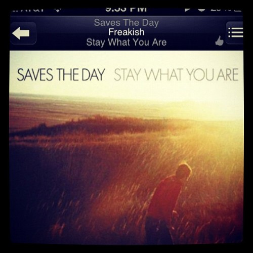 #nowplaying #savestheday #std #freakish (Taken with instagram)