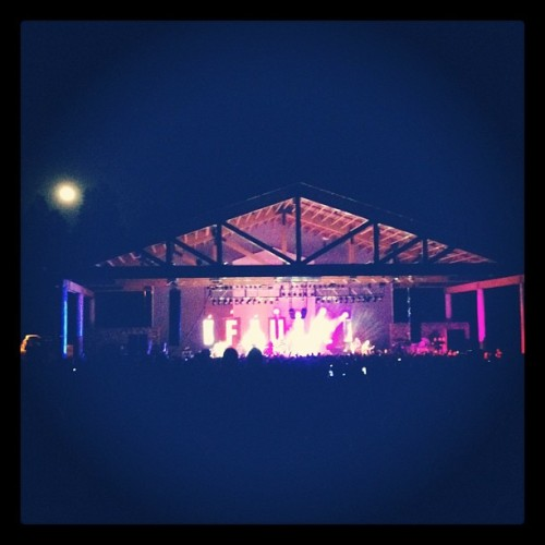 Full moon! (Taken with Instagram at Pepsi Amphitheatre @ Fort Tuthill)