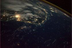 jadedfable:  Vietnam coastline from space.