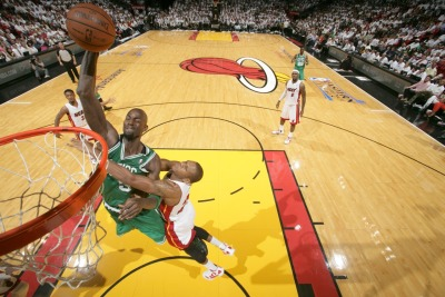 nba:  June 5, 2012 - Eastern Conference Finals Game 5: Boston Celtics at Miami Heat.  (Photo by Nathaniel S. Butler/NBAE via Getty Images)
