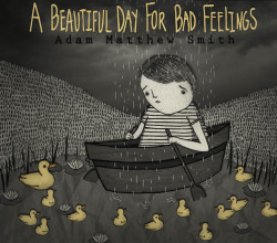 Here the finished album art I did for my friend Adam Matthew Smith's cd, A Beautiful Day for Bad Feelings.  http://www.adam-matthew-smith.com/ A Beautiful Day For Bad Feelings 2012, ink, graphite, digital collage © Mai Ly Degnan