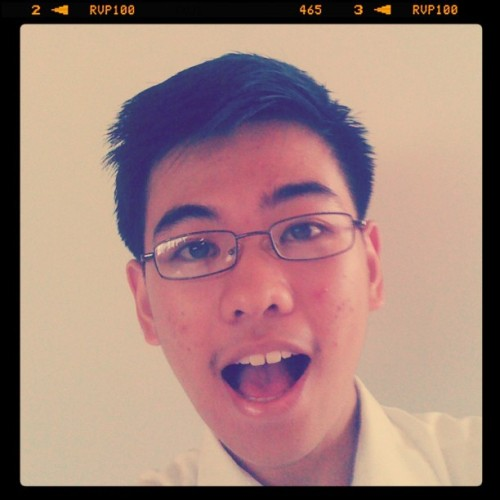 Prang tang*.. hahaha (Taken with instagram)
