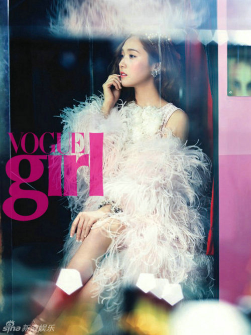 Vogue Girl Title: Coco in Wonderland Model: SNSD's Jessica & Tiffany Photographer: Hong Jang Hyun
