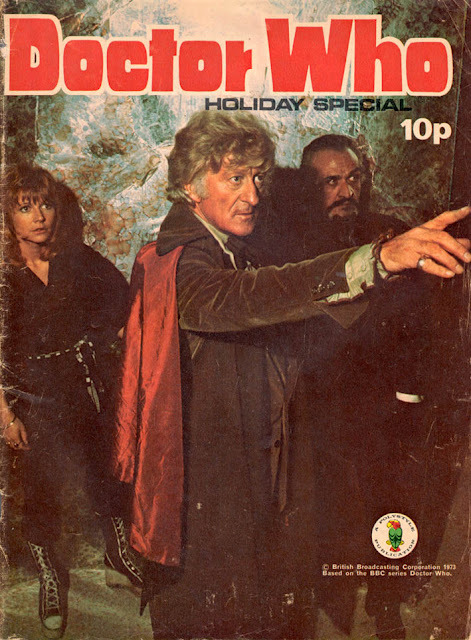 (via Blimey! It's another blog about comics!: Flashback to 1973: DOCTOR WHO HOLIDAY SPECIAL) The first Doctor I saw.