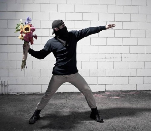 (via You Are Not Banksy: Street Art Turns Real-Life » This Blog Rules | Why go elsewhere?)