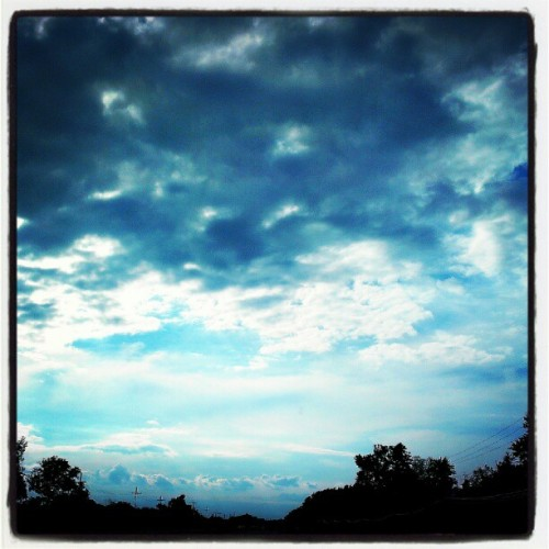 From the drive in  (Taken with instagram)
