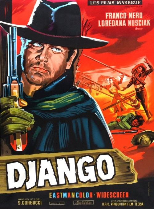 (via Poster for Django (1966, Italy / Spain) - Wrong Side of the Art)
