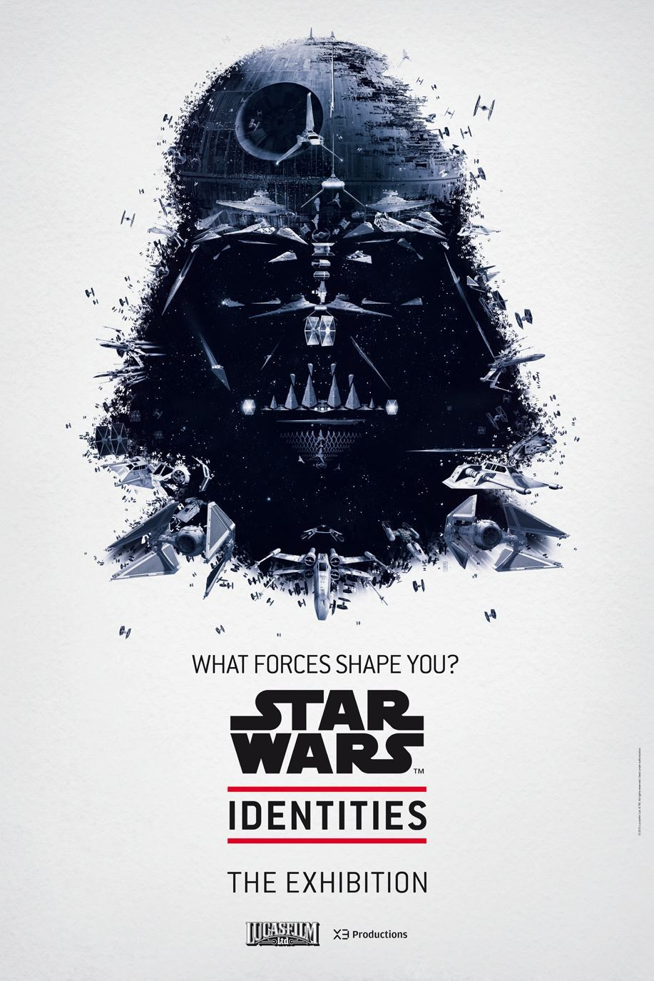 STAR WARS Identities The Exhibition Posters