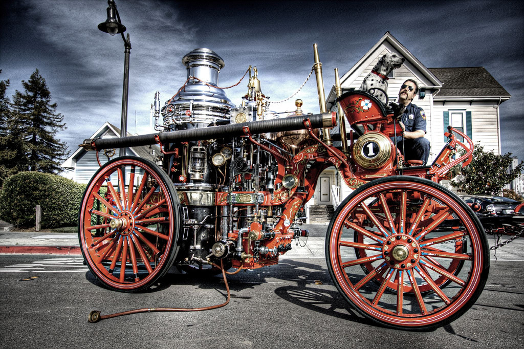 Steam Fire Engine (by Josh Sommers)