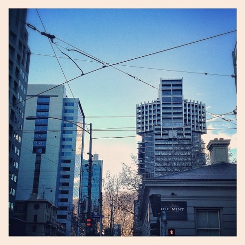 Day 1 | Morning | in Melbourne | #morning #melbourne #city #photoadayjune (Taken with instagram)