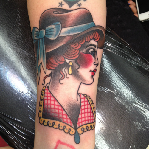 Had a lot of fun doing this lil lady! Cowgirls