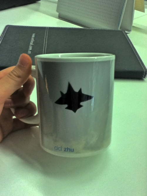 Get my jet kite in my mark cup ,hw cool is dat!