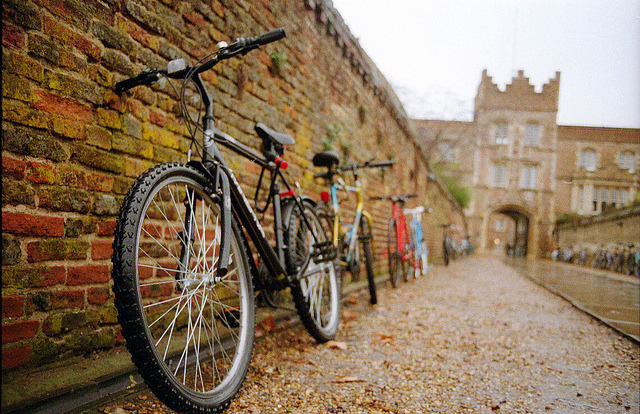 | ♕ |  Autumn Bicycles - Cambridge  | by © vic xia