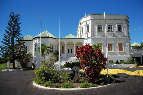 State House, Roseau, Dominica by bobindrums on Flickr.