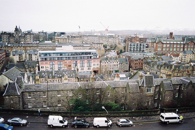 | ♕ |  Edinburgh cityscape - Scotland  | by © vic xia