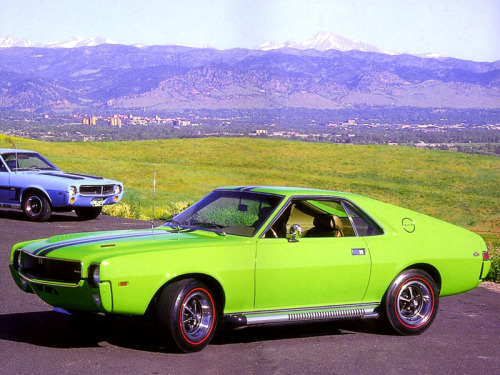 "1969 AMC AMX ""Big Bad""."