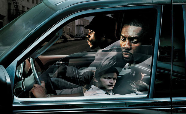 "wescoasia:  Maxim Interrogates the Makers and Stars of The Wire ""We had a taste of what The Wire was before The Wire came out when they did The Corner. It was like Star Trek compared to Star Wars.  Star Trek was good, but you wanted to see more detail. I wanted to see some space fighting. When Star Wars came out it blew my fucking mind."" — Method Man (Calvin ""Cheese"" Wagstaff) Some good backstory bits and reflections from the whole crew. 10 years since the show debuted."