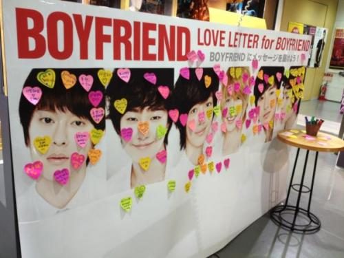 "bestfriendloveboyfriend:   BOYFRIEND Official ‏@officialBFjp 本日は、「We are ""BOYFRIEND""」の発売日です! タワーレコードの企画でのラブメッセージもうすでに沢山の方にいただいております(^∇^)皆さん、ありがとうございます! [TRANS] Today is the release date of ""We are"" BOYFRIEND """"! Everyone (^ ∇ ^), Thank you to who has received a lot of love messages already in the planning of Tower Records! Source: @officialBFjp (via BoyfriendDonghyun)"
