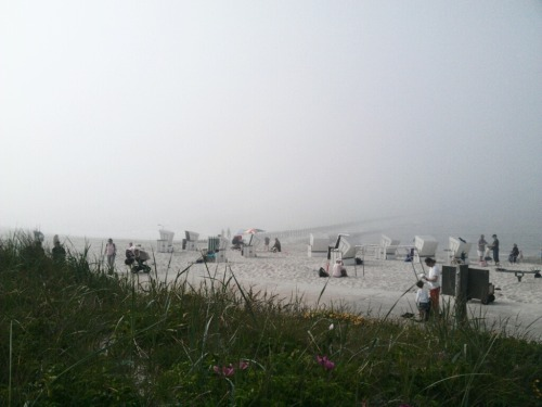 The Beach Series Frame IX (sea fog edition)