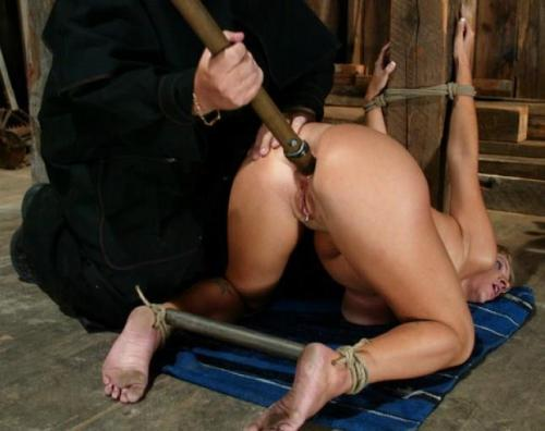 cruelman2:  Every two hours, a man comes to push the punishment stick a little deeper.