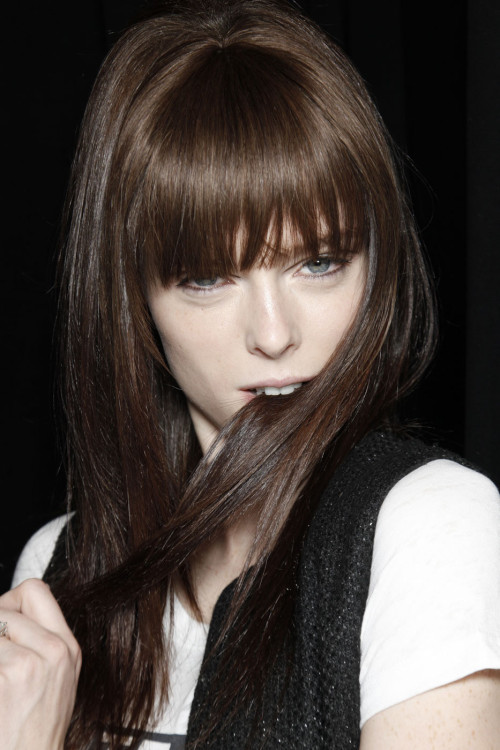 ah, Coco Rocha, sincerely, Canada.