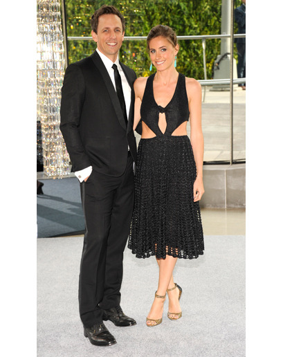 Seth Meyers at CFDA 2012