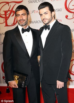 Marc Jacobs at CFDA 2012