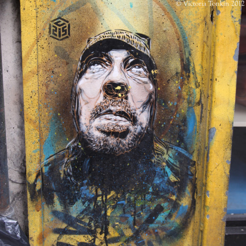 London Graffiti…..  C215