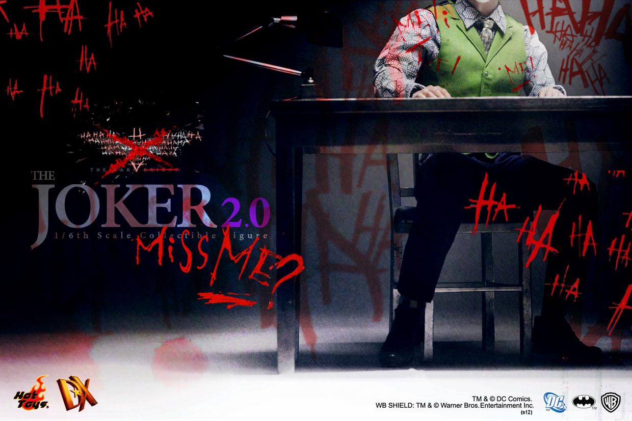 [TEASER] The Dark Knight - Joker DX 2.0 - Hot Toys