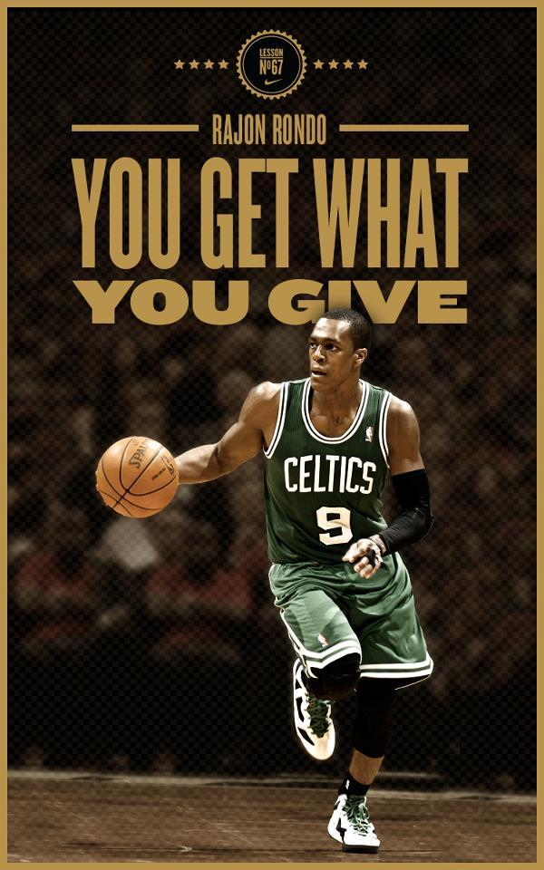 Lesson No. 67: You get what you give.