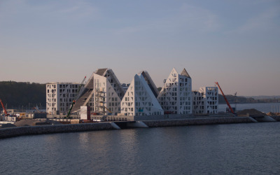 Iceberg Project, Århus harbor front, nears completion (Q3 2013)