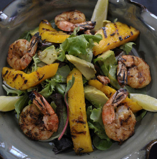 Summer sizzles with chipotle shrimp salad