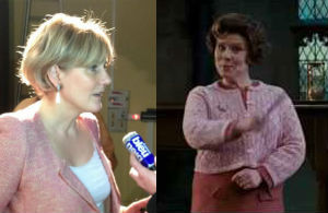 Who wears it best? Umbridge ou Morano?
