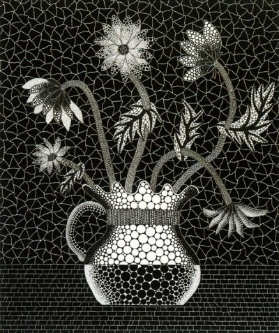 iamjapanese:  KUSAMA Yayoi(草間彌生 Japanese, b.1929) Flowers QE    1993 screenprint