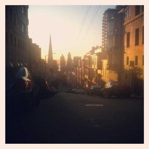 Good morning city! (Taken with Instagram at Nob Hill)