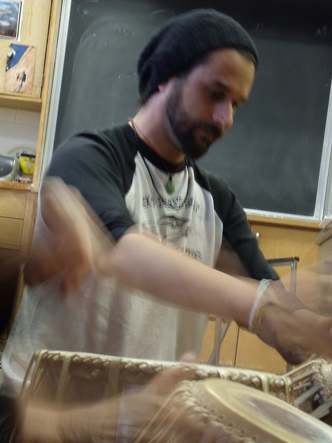 torontotablaensemble:  TTE Rehearsals on Flickr. Toronto Tabla Ensemble Rehearsals for Traditions Alive!http://www.torontotabla.com/events/Via Flickr: Going supersonic…