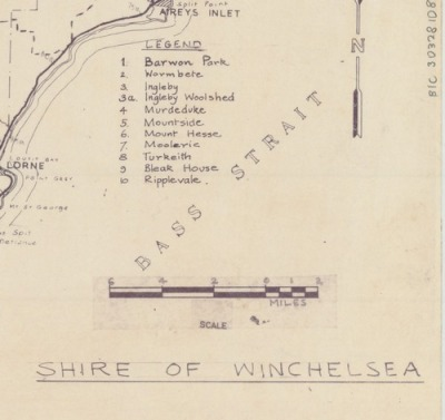 mypantsareonfire:  winchelsea 1960  large http://96.125.172.23/~tumblr2/Winchelsea_1960_b.jpgsuper large http://96.125.172.23/~tumblr2/Winchelsea_1960.jpg  In one of those strange word coincidences, this map contains a place name I encountered for the first time just last week: Kaanglang. It's the name of the parish (cadastral division) in which our block of land in Wye River is situated. Such a great name, I reckon it's in the running for the name of our holiday house.