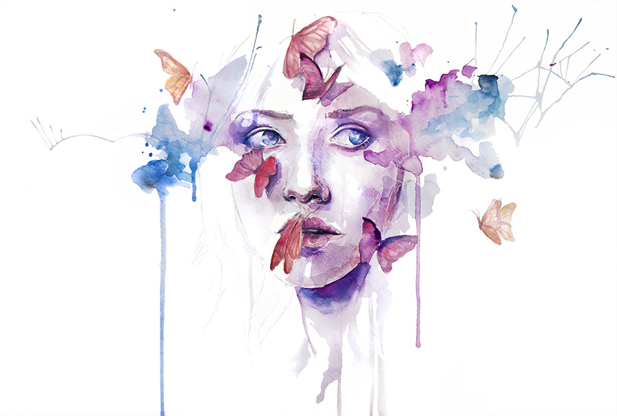 agnes-cecile:  project - about a new place