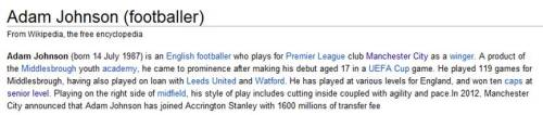 Starting to think Wikipedia isn't a credible source…!