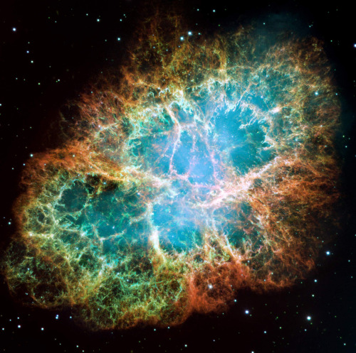 M1 - The Crab Nebula, so intense. The crab nebula was the very first Messier Object catalogued in 1758, this opened so many doors to modern astronomy, fucking awesome.